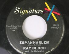 Jazz 45 Ray Bloch And His Orchestra - Espanharlem / Meadowland On Signature