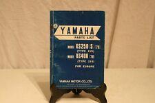 ANCIEN MANUEL YAMAHA XS 250 (S) (78).
