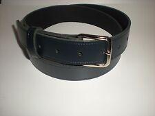 Azul Marino Cinturones De Piel Apto Para Hombres y mujer Pequeño X Grande Tallas