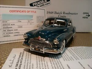 DANBURY MINT 1948 BUICK ROADMASTER COUPE..1:24..ULTRA RARE COLOR.NOS.UNDISPLAYED