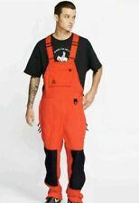 Nike ACG Men's Woven Overalls Nylon Bib Red Men's MEDIUM CD7630-634 NEW $180