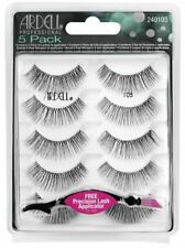 Ardell False Eyelashes Natural 105 Black, 5 pairs pack ,Item #240103