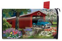 Winter Bridge Magnetic Mailbox Cover Pickup Truck Standard Briarwood Lane