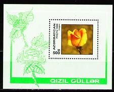 Azerbaijan 1996 Sc604 MiB24 1 SS mnh Roses