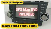Toyota Highlander JBL Navigation GPS Factory Original XM E7014 E7015 E7016 OEM