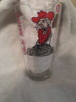 Ole Miss Rebels Pint Glass/ Price For 2 Glasses Col Reb