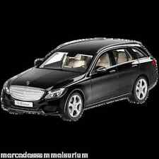 Mercedes Benz S 205 C Klasse/C Class T Modell/Estate Schwarz/Black 1:18 Neu/New