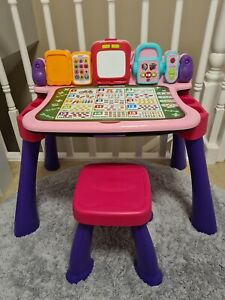 VTech Pink Touch and Learn Activity Desk
