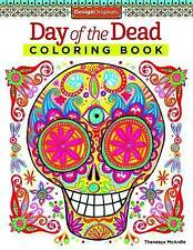 Day of the Dead Coloring Book by Thaneeya McArdle (Paperback, 2014)