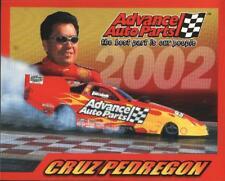 2002 Cruz Pedregon Advance Auto Parts Pontiac Firebird Funny Car NHRA postcard