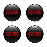 3D Print 4 x 52 mm Aufkleber Emblem OZ Racing Silikon Felgen Nabenkappen