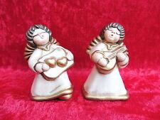 2 schöne Keramikfiguren __Engel___Thun -Engel !