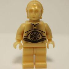 Lego Star Wars C-3PO PEARL LIGHT GOLD ORIGINAL 7106 minifig minifigure