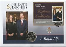 JAMAICA 29 APRIL 2011 ROYAL WEDDING MINIATURE SHEET COIN FIRST DAY COVER