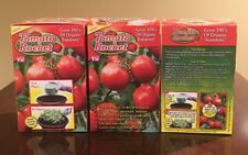 Tomato Rocket As Seen On TV Grow 100s Of Organic Tomatoes Indoors Outdoors X3