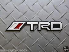 Toyota Motors TRD Aluminum Emblem Badge Supra Tundra
