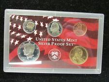 US Mint Silver Proof Sets  (Lot of 3) Plastic Case