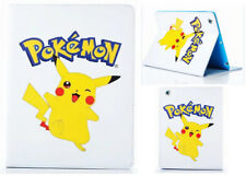 For Apple iPad Mini 1 2 3 Happy Pokemon Pikachu Pokeball Stand Case Cover