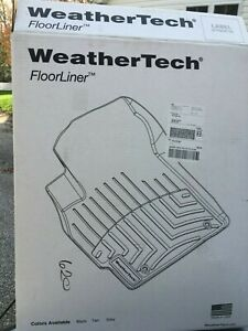 WeatherTech 447511 FloorLiner Black. Fits 2015-2021 Chevy Colorado / GMC Canyon