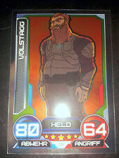 Hero Attax 2014 Marvel Mirror - Foil - Karte Nr. 25 Volstagg Sammelkarte