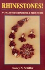 RARE RHINESTONE VALUE GUIDE COLLECTOR'S REFERENCE BOOK Blue Red Black Pink ++