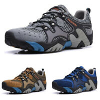 New Mens Summer Outdoor Wading Shoes Breathable Mesh Climbing Trainers Sneakers