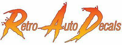 Retro Auto Decals