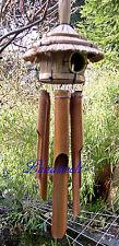 Feng Shui Klangspiel-Windspiel- Bambus mit Vogelhaus