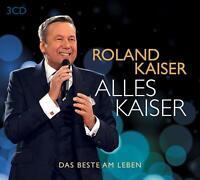 ROLAND KAISER - ALLES KAISER (DAS BESTE AM LEBEN)  3 CD NEU