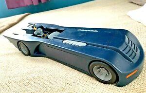 "Batman 92 Animated Series 17"" Batmobile & Catwoman figure Kenner World Wide Ship"