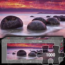 MOERAKI BOULDERS édition Humboldt 1000 Pièces Panorama Puzzle par Heye
