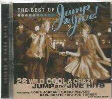 THE BEST OF JUMP & JIVE - 26 Wild Cool & Crazy - BRAND NEW  - CD