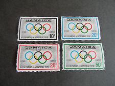 Jamaica 1976 SG jeux olympiques de 415-418 neuf sans charnière