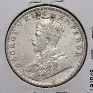 India British 1918 Rupee 191048 combine