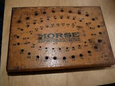 MORSE TWIST DRILL & MACHINE CO USA - WOODEN DRILL STAND