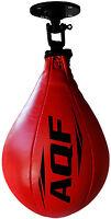 AQF Leather Speed Ball & Swivel Boxing Punch Bag MMA Speed Bag Training Set Mult