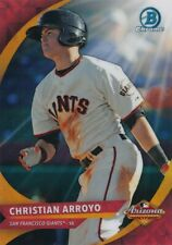 CHRISTIAN ARROYO 2016 Bowman Chrome ARIZONA FALL LEAGUE REFRACTOR RC RAYS/GIANTS