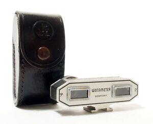 Watameter Germany Rangefinder Attachment + Case - Excellent Clean Condition.
