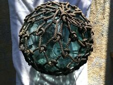 Vintage Fishing Net Float Glass Ball From Asia Area. 12� Diameter Without Rope