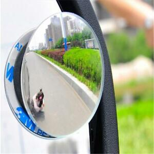 Car Pickup SUV Stick On Rear-view Blind Spot Convex Wide Angle Round Mirror CN