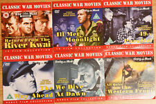 6 DVD ~  War Movies ~ Dive at Dawn, 49th Parallel,Return from the Kwai...ETC