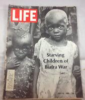 Biafra War July 12 1968   Life Magazine