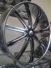 "26"" Inch CHROME Dcenti DW29 Wheels Rims 20 24 26 28"