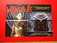 Giorgio Moroder Metropolis Photobusta Italian Movie Poster 1984 Lot  3