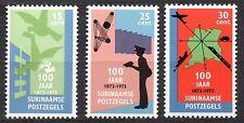 Suriname - 1973 Surinam stamp centenary Mi. 663-65 MNH