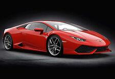 Pocher Lamborghini Huracan LP 610-4 Rosso Mars 1/8 Diecast Model Car Kit HK105