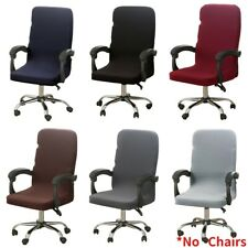 Stretch Office Chair Cover Removable Home Study Computer Chair Slipcovers