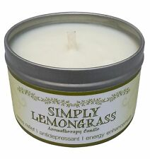 Our Own Candle Company Soy Aromatherapy Scented Candle, Simply Lemongrass, 6.5oz