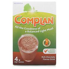 COMPLAN RICH CHOCOLATE DRINK - 4 X 55G SACHETS
