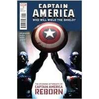 Captain America: Reborn Who Will Wield the Shield #1 in NM. Marvel comics [*5j]